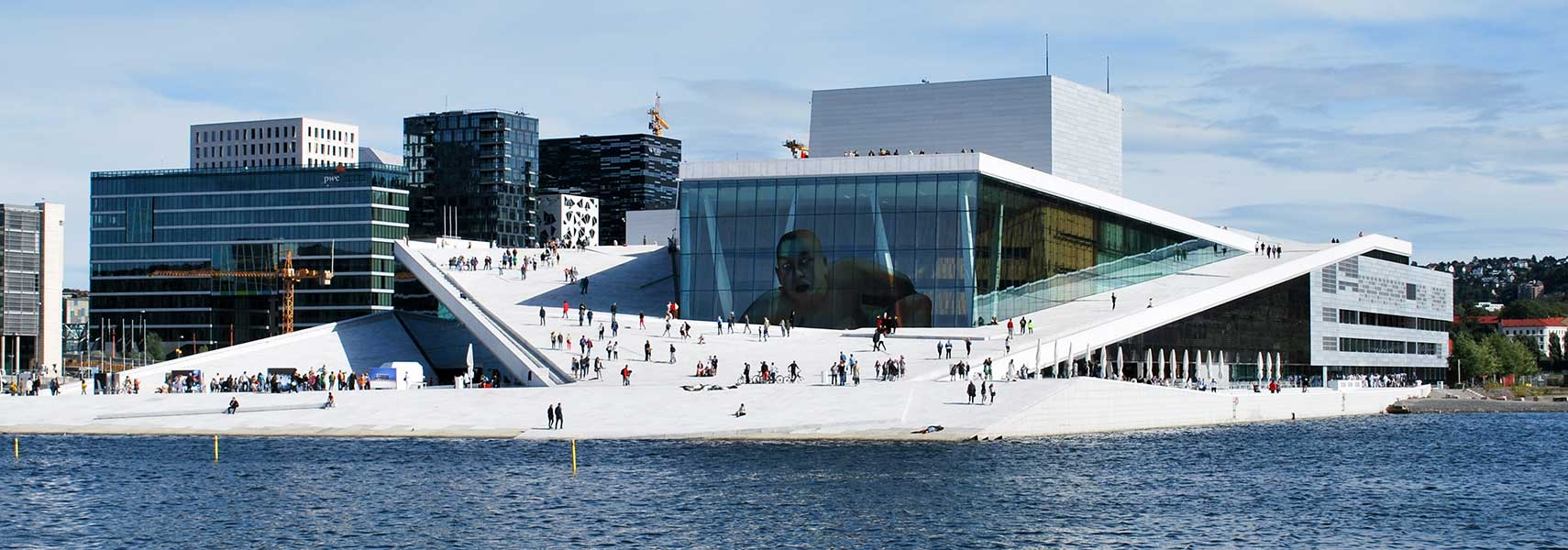 Google map of oslo norway nations online project map of the city of oslo norway oslo opera house at kirsten flagstads plass sciox Gallery