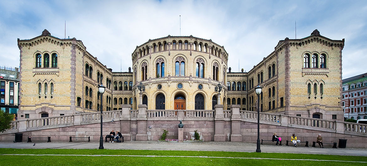Parliament of Norway building
