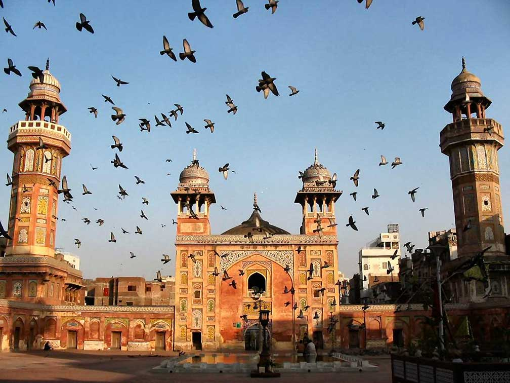 Google Map of Lahore, Punjab, Pakistan - Nations Online Project