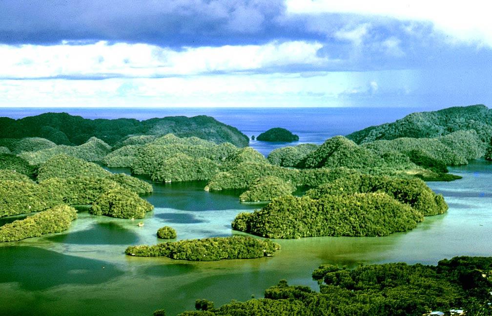 Google Map Of Palau Nations Online Project - Palau map