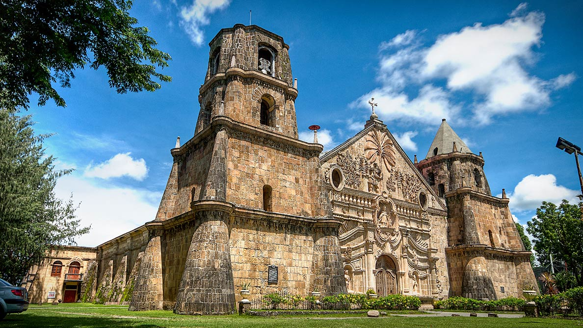 Miag-ao Church is one of the four Baroque Churches of the Philippines
