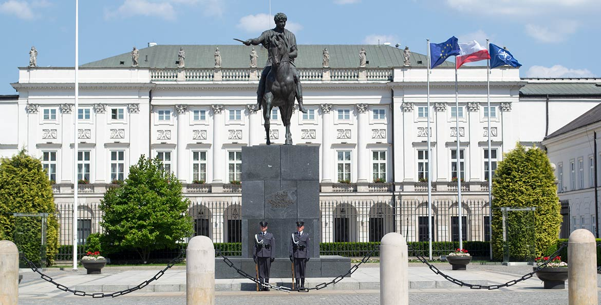 Presidential Palace - Warsaw, Poland