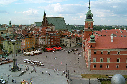 Royal Castle Square, Warsaw, Poland