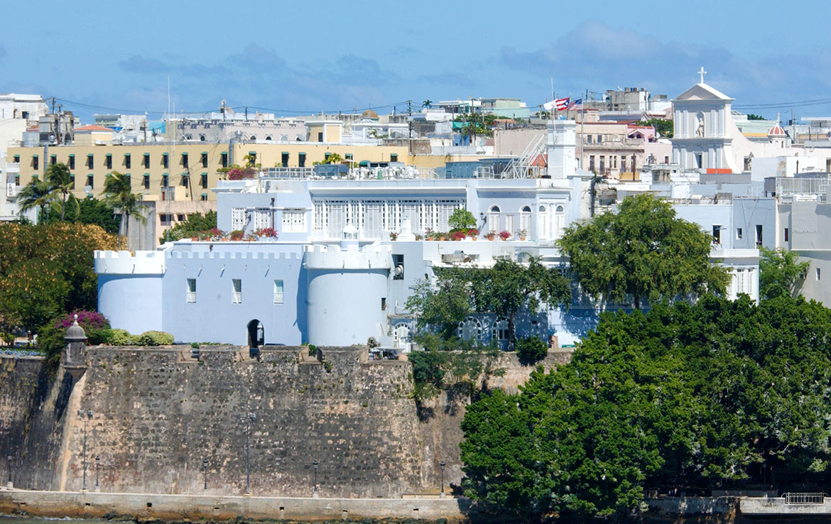 Residence of the Governor of Puerto Rico, La Fortaleza in Old San Juan