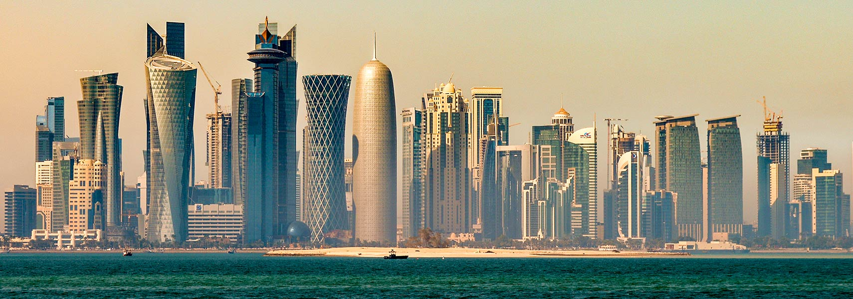 Doha's West Bay skyline