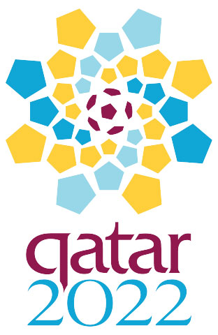 Qatar logo to host the 2022 FIFA World Cup