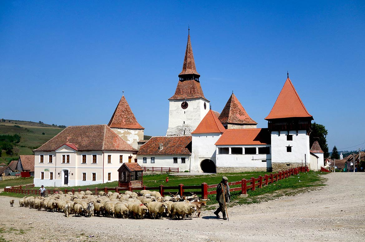 Fortified church of Archita, Mureș County, Romania