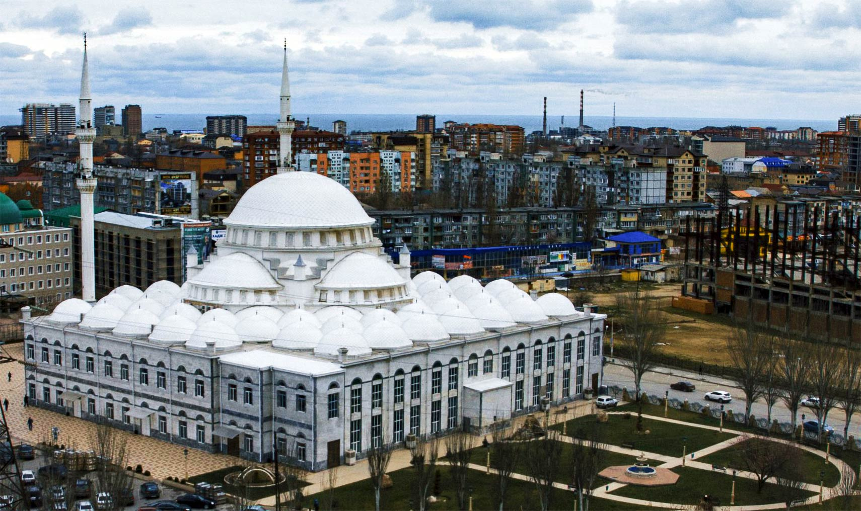Grand Mosque of Makhachkala, Dagestan, Russia