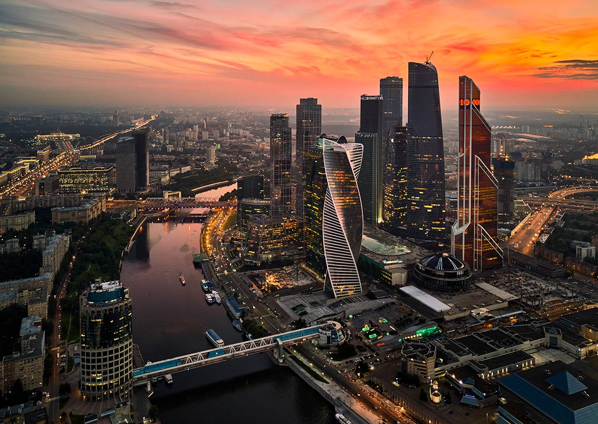 Moscow International Business Center or Moskva-City