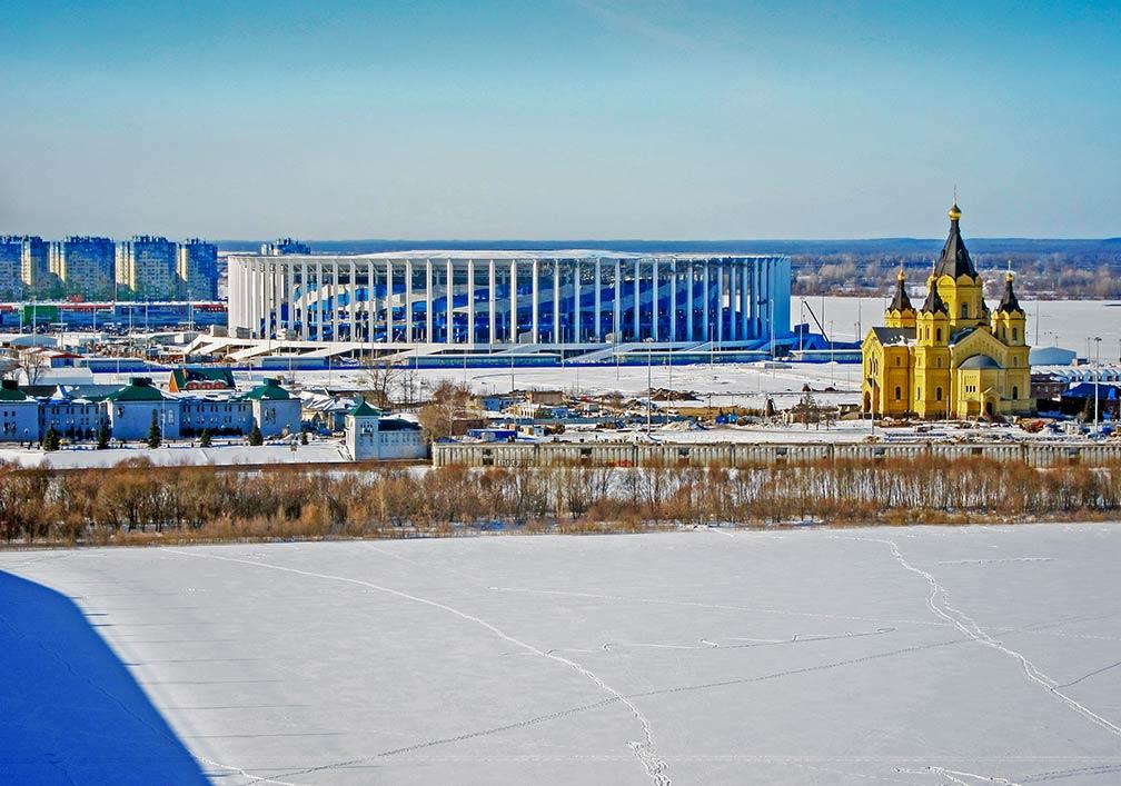 Google Map of Nizhny Novgorod, Russian Federation - Nations Online on