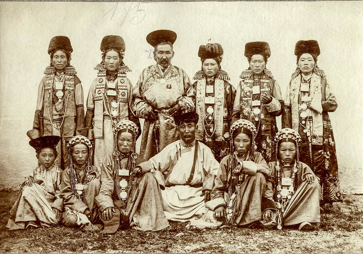 Buryats - Native Peoples of Siberia (1895)