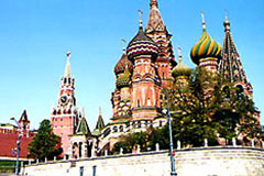 St. Basil Cathedral and Kremlin