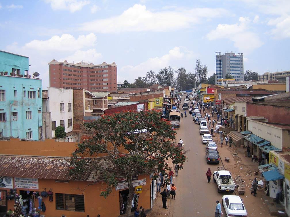 Google Map of Kigali Rwanda Nations Online Project
