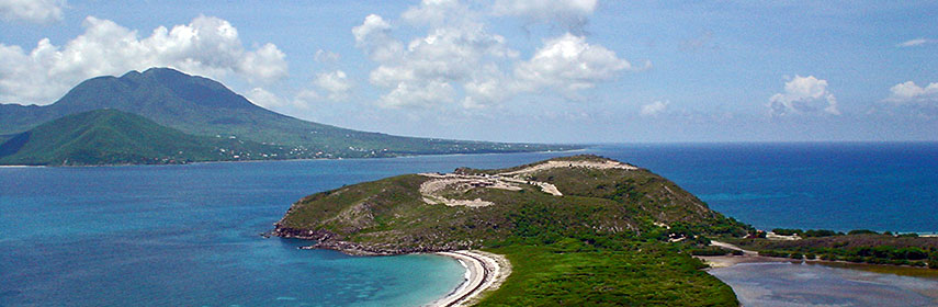Google Map of Saint Kitts and Nevis - Nations Online Project