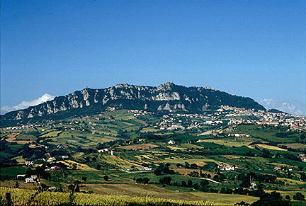 Google Map of San Marino Nations Online Project