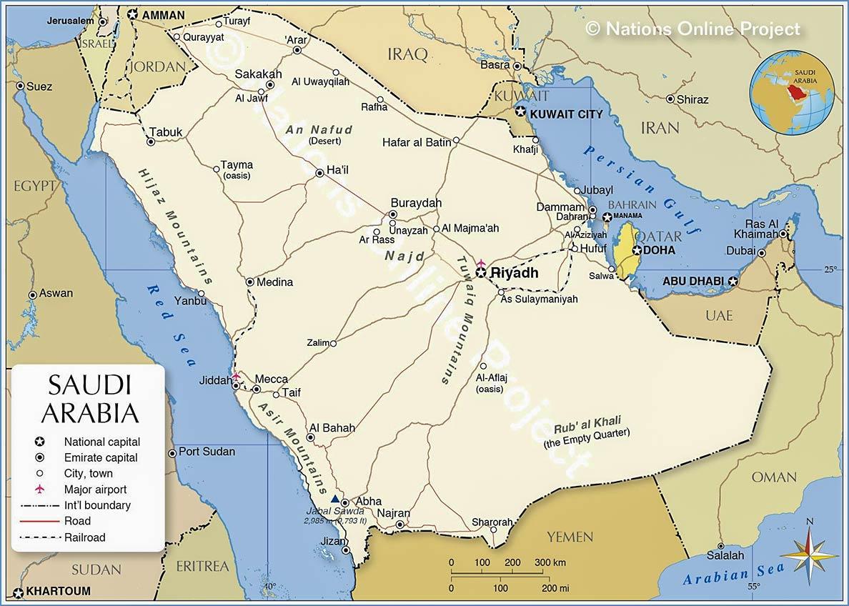 Saudi Arabia Country Profile Destination Saudi Arabia Nations Online Project