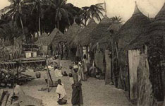 Hist. image of Indigenous district Saint-Louis