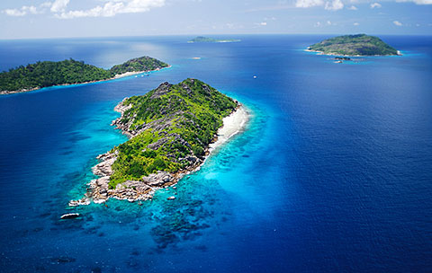 Felicite and Sisters Island, Seychelles