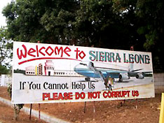 welcome to Sierra Leone