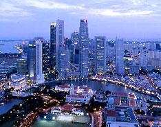 Singapore City Picture on Singapore   Country Profile   Lion City   Destination Singapore