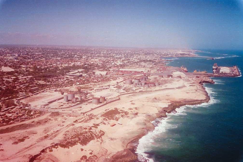Google Map of Mogadishu, Somalia   Nations Online Project