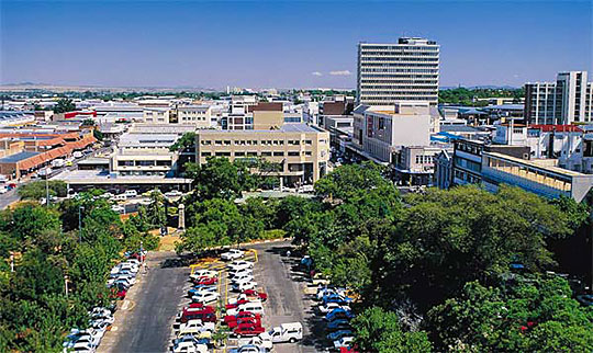 Google Map of the City of Polokwane, South Africa   Nations Online