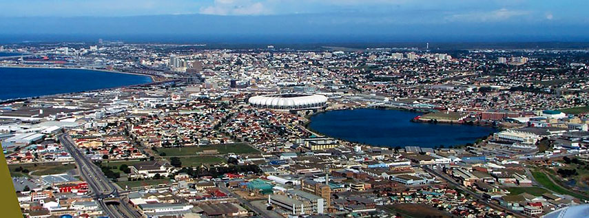 Google Map of the City of Port Elizabeth, South Africa - Nations ...
