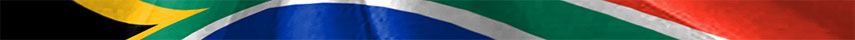 South Africa flag detail