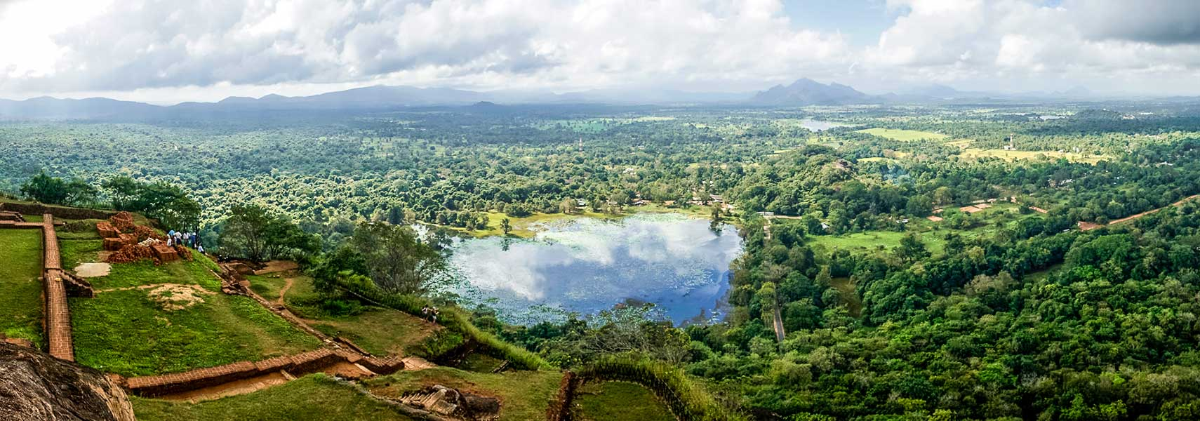 View from Sigiriya, Matale District, Sri Lanka