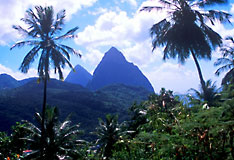 Saint Lucia - Pitons and Jungle, Windward Islands