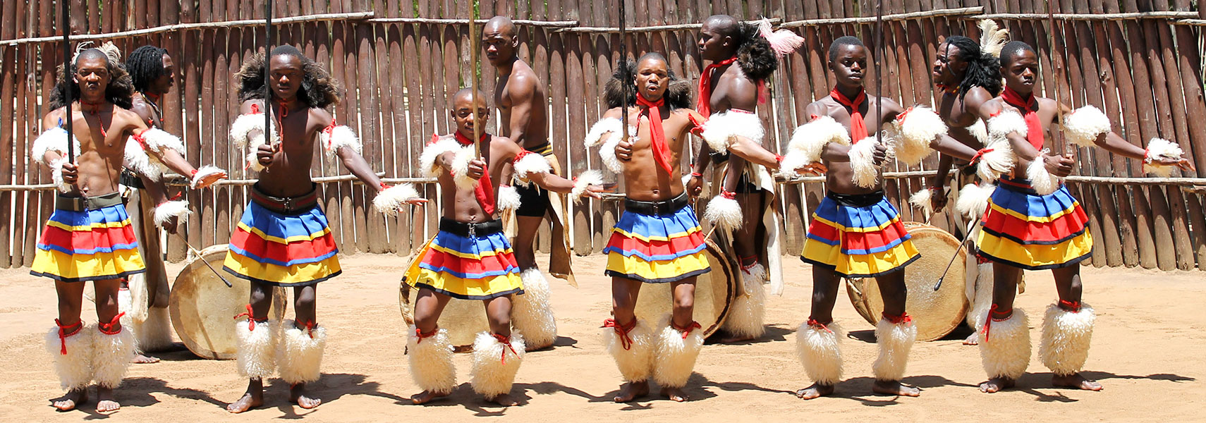 Sing and dance performance Manzini, Swaziland