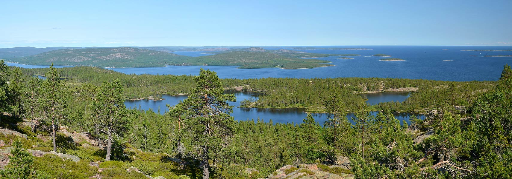 View of Sweden's High Coast