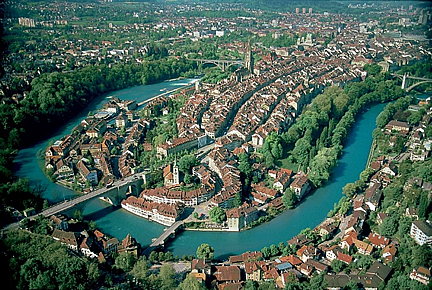 Searchable Map of the City of Bern, Switzerland - Nations Online Project