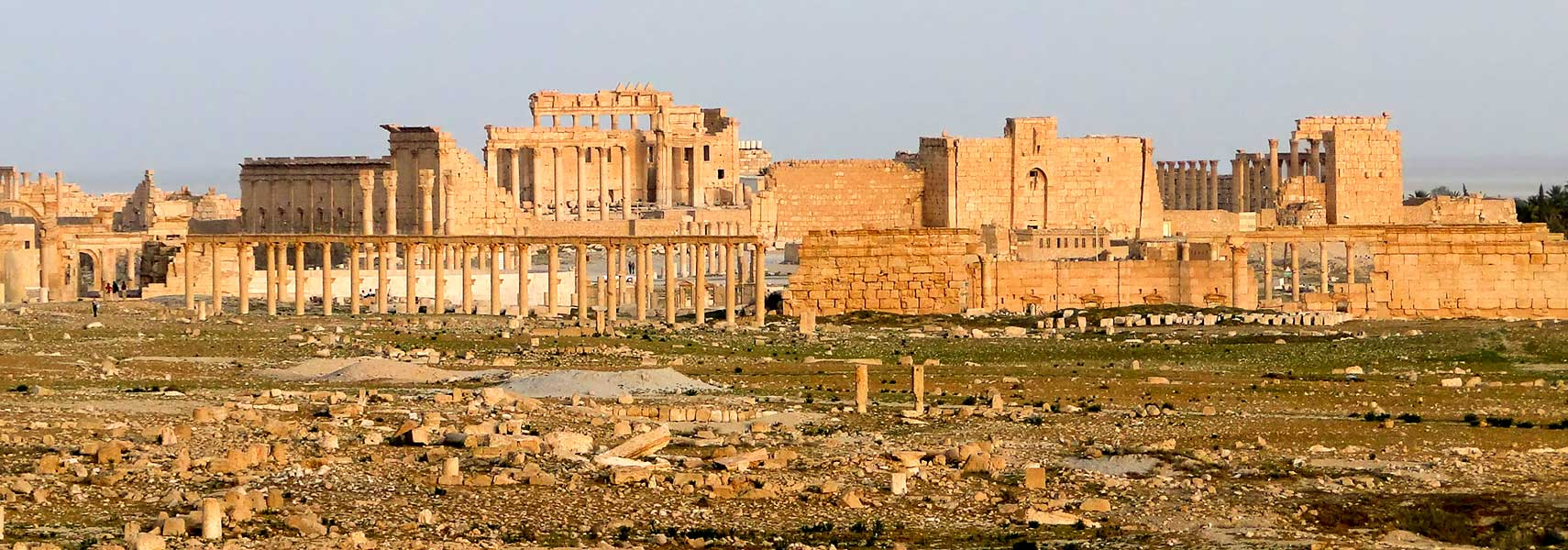 Ruins of Palmyra in 2010
