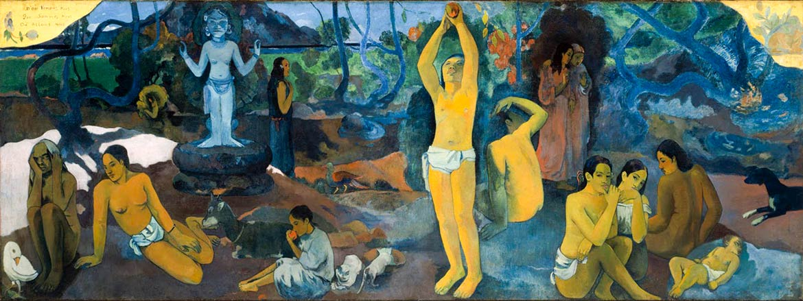 Paul Gauguin painting: Where Do We Come From? What Are We? Where Are We Going?
