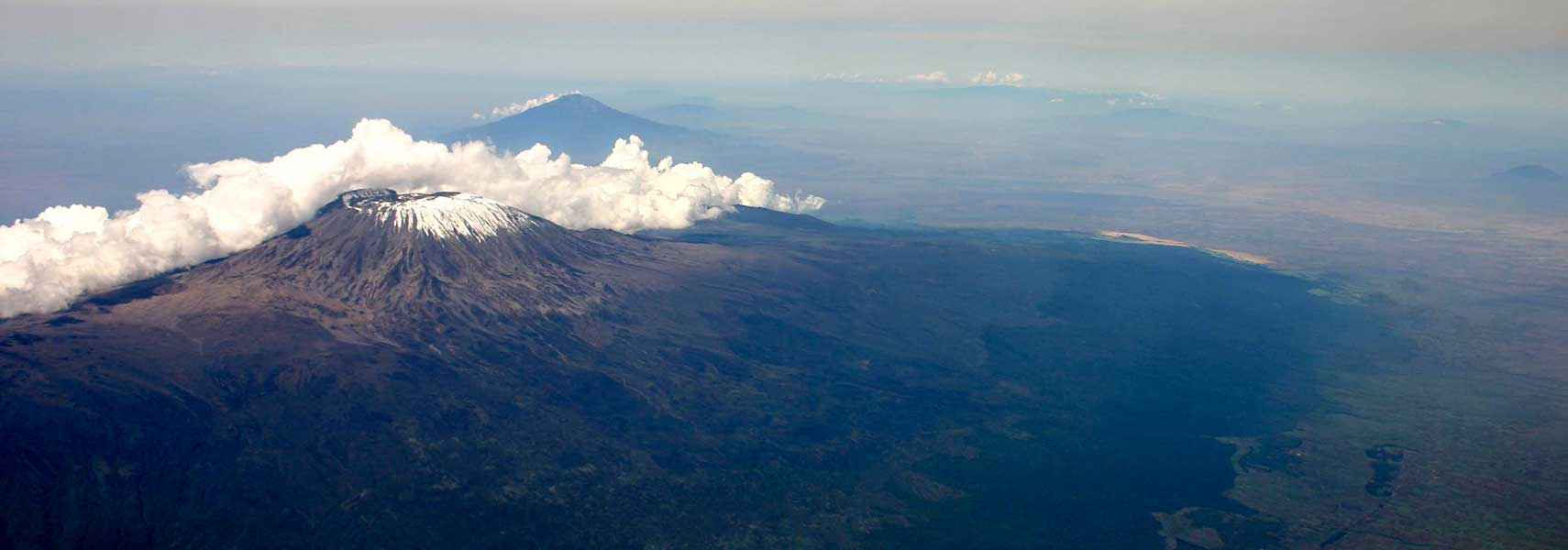 Google Map of Mount Kilimanjaro, Tanzania - Nations Online Project