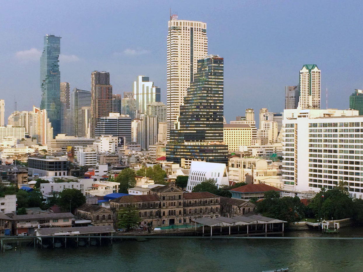 Central Business District of Bangkok, Thailand