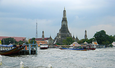 Wat Arun, Bangkok, the Thai capital