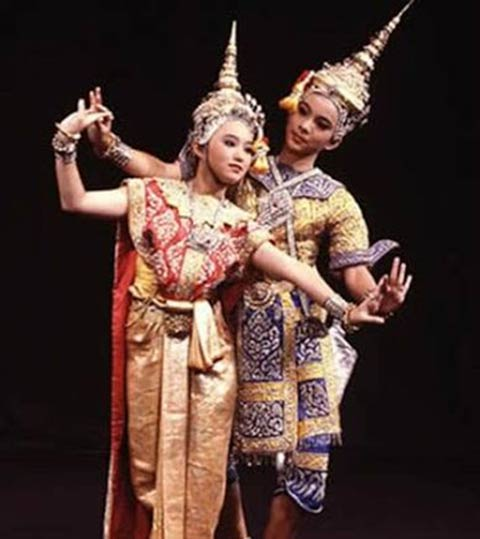 Thai Classical Dancing