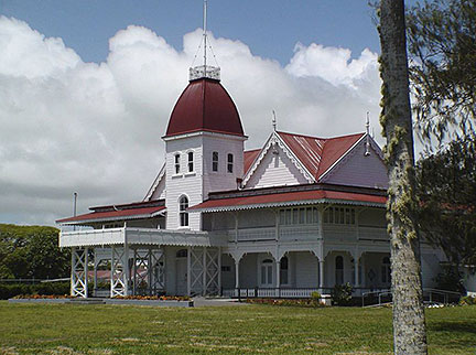 Royal Palace, Kingdom of Tonga