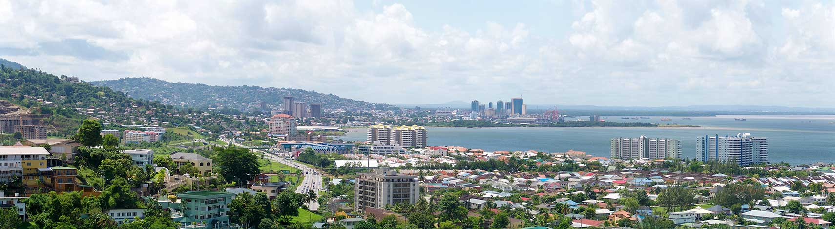 Google Map of Port of Spain Trinidad and Tobago Nations Online