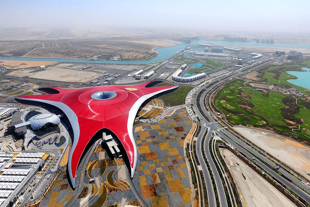 Google Map Of Abu Dhabi United Arab Emirates Nations