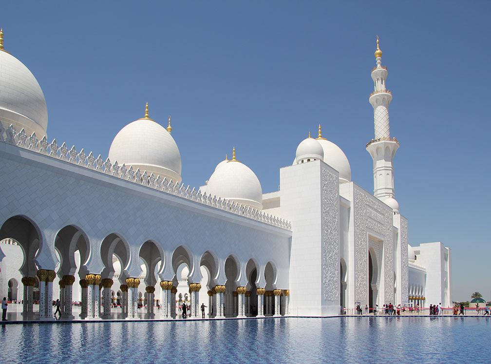 Google Map of Abu Dhabi, United Arab Emirates - Nations