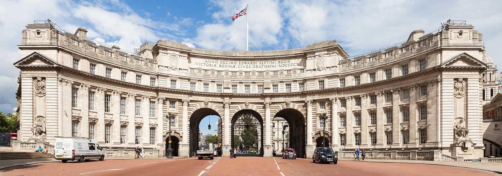 Admiralty Arch with The Mall, London, England