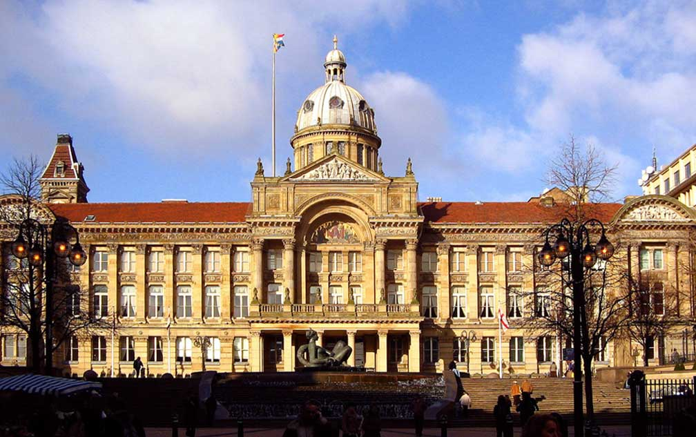 Birmingham Council House on Victoria Square