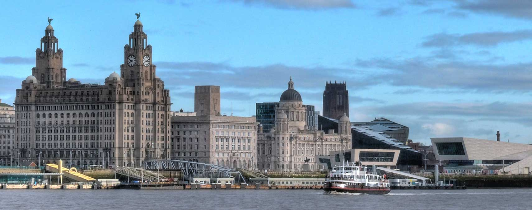 Pier Head Landing Stage, Liverpool, North West England, UK