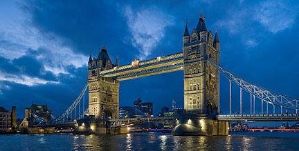 Google Map Of The Tower Bridge London United Kingdom Nations