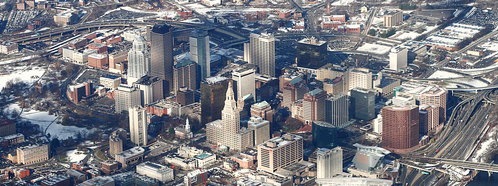Google Map of Hartford Connecticut USA  Nations Online Project