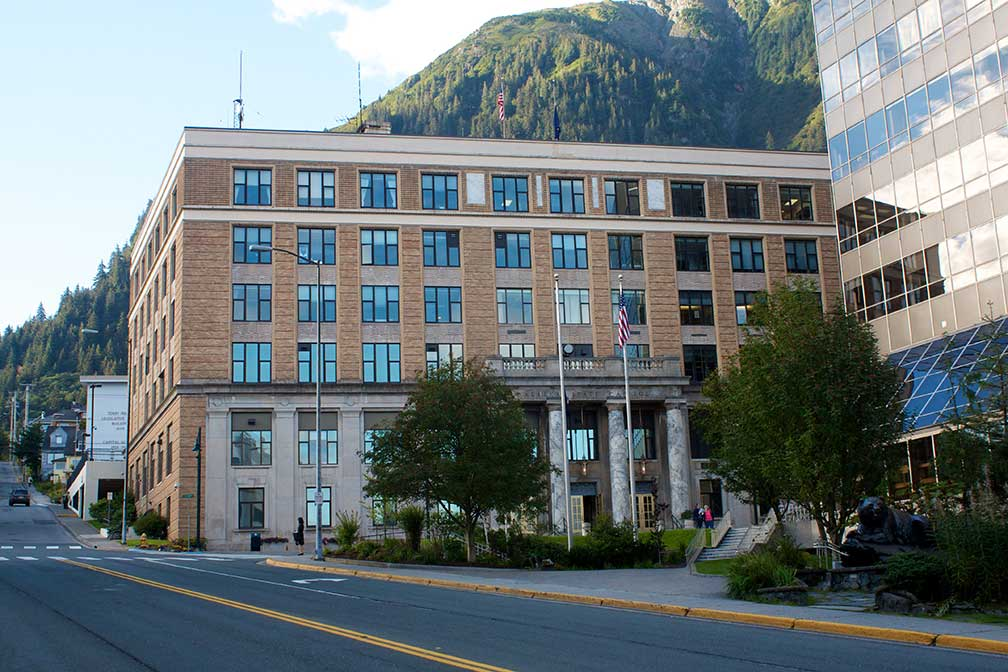 Google Map Of Juneau Capital Of Alaska Usa Nations Online Project