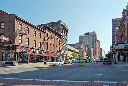 The North Pearl Street in Albany